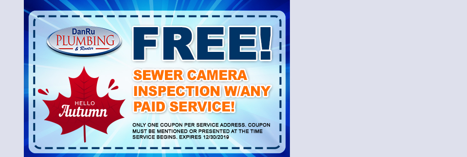 Free Sewer Camera Inspection!